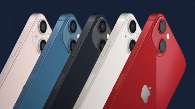 Novo Iphone 13 disponível em cinco cores