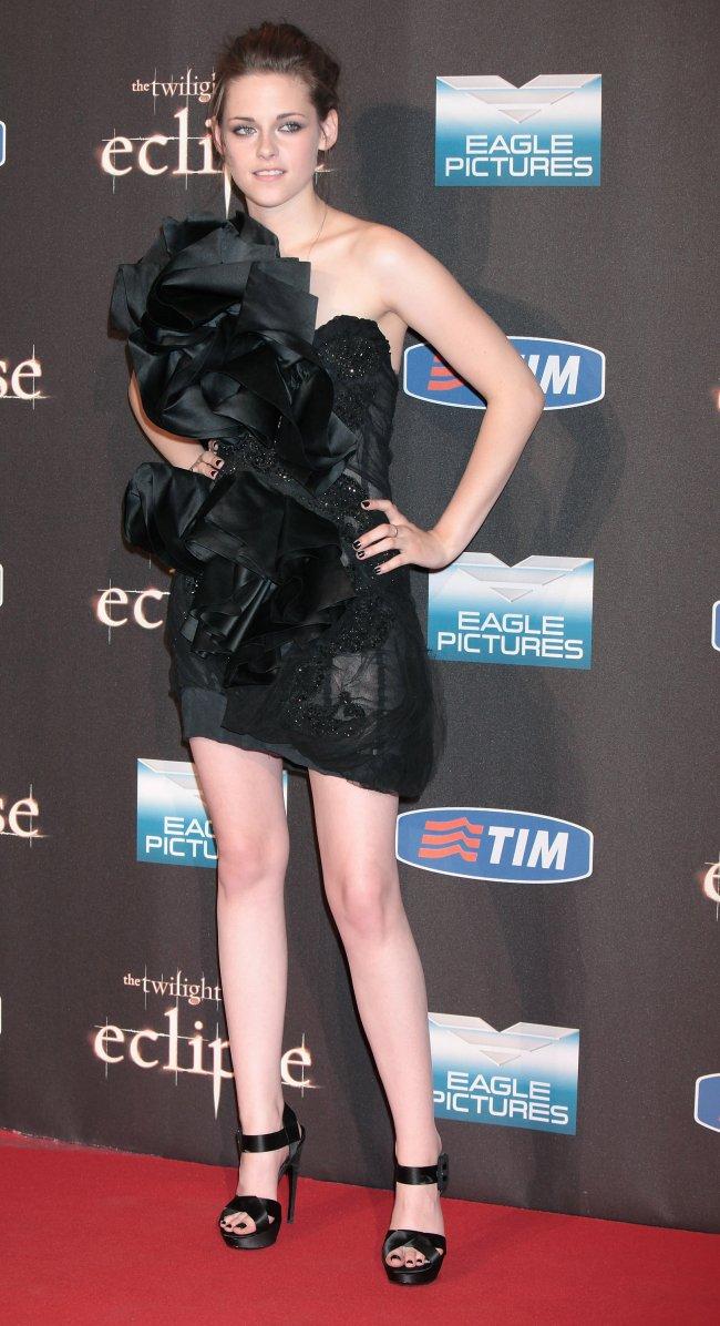Kristen Stewart na estreia de Eclipse em Roma