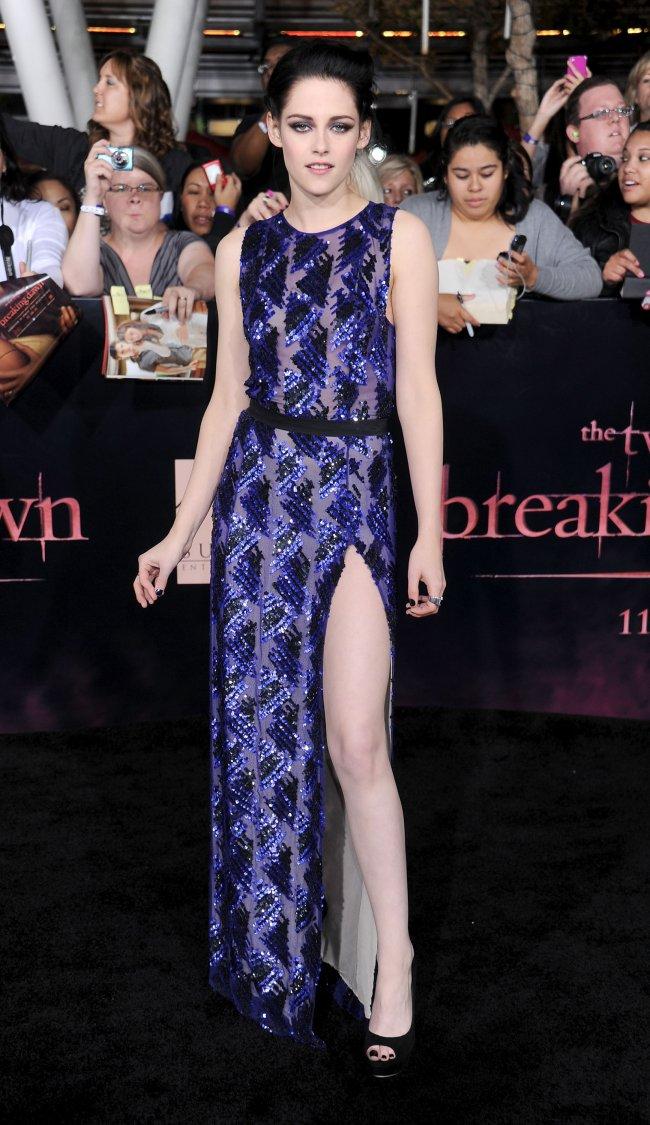 Kristen Stewar na estreia de Amanhecer parte 1 em Los Angeles