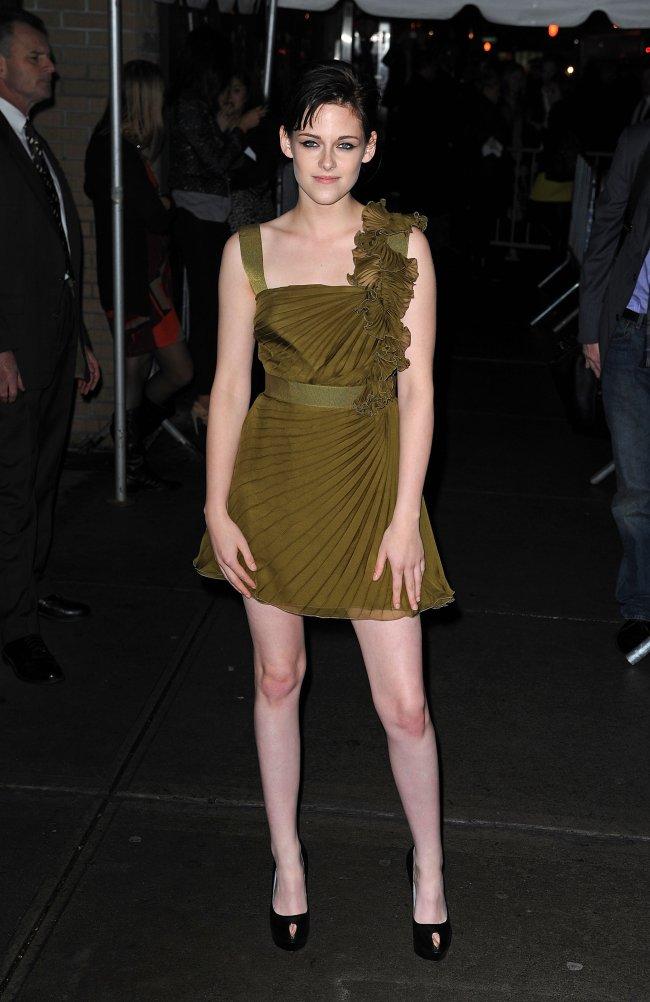 Kristen Stewart na estreia de Lua Nova em Nova Iorque