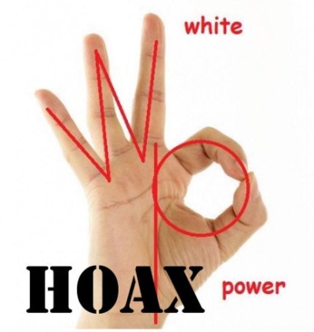 Imagem mostrando o sentido do emoji ok dado por racistas